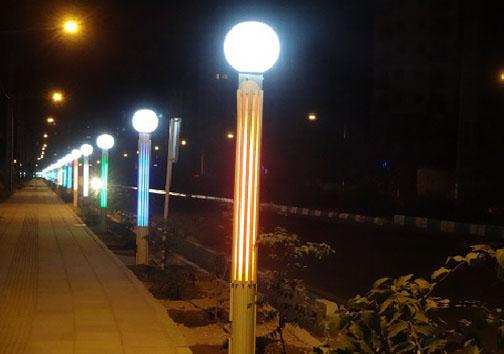 با اصلاح روشنایی معابر مصرف برق ۲۰۰ مگاواتی کاهش یافت