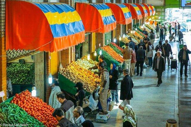 اعلام قیمت میوه های تابستانی در میادین میوه و تره