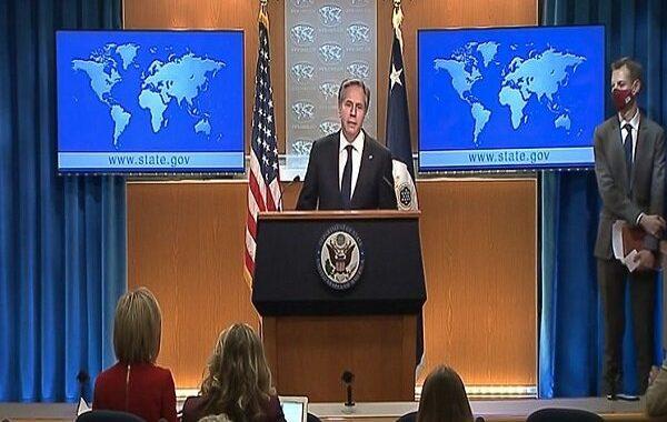 موضع گیری وزیر خارجه آمریکا درباره برجام در اولین نشست خبری