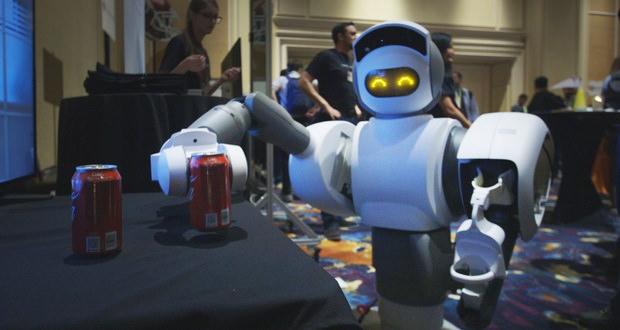 ال جی روبات پوشیدنی طراحی کرد / حمل بارهای سنگین / کمک به کارگران برای انجام امور کارخانه